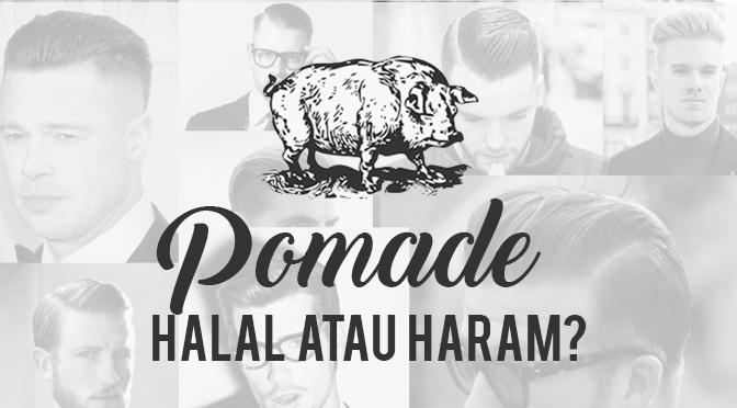 pomade halal atau haram