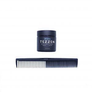 tezzen bravo + tezzen stying comb